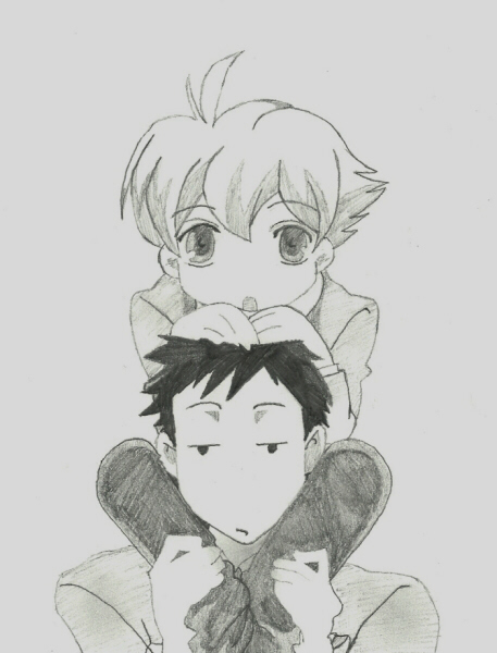 Honey and Takashi of 'Ouran High School Host Club&#8217